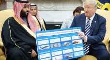 ولي العهد السعودي: أحب العمل مع ترمب.. ونشتري السلاح الأمريكي بأموالنا