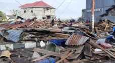 العثور على نحو ألفي جثة بعد زلزال اندونيسيا والتسونامي