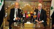 بغداد تدرس مع دمشق فتح المعابر المشتركة وعودة سوريا الى الجامعة العربية