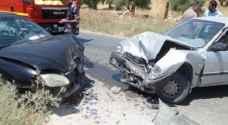 11 إصابة بحادثي سير منفصلين في عمان والمفرق