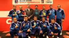"""""""الدرك"""" يحصد 4 ميداليات في ماراثون بيروت الدولي"""