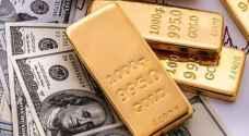 الذهب يقفز مع هبوط الدولار