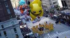 """شاهد كيف احتفل الأمريكيون بـ""""عيد الشكر"""" في شوارع نيويورك - صور"""