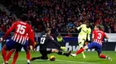 برشلونة يقتنص تعادلاً في الوقت القاتل أمام أتلتيكو مدريد