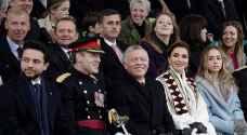 الملك والملكة وولي العهد يحضرون تخريج الأميرة سلمى من دورة عسكرية في ساندهيرست- صور