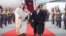 ولي العهد السعودي يصل إلى مصر