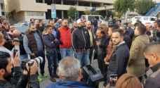 وقفة احتجاجية في ساحة مستشفى الأردن بعمّان.. صور