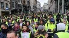 """فرنسا: اعتقال المئات باحتجاجات """"السترات الصفراء"""""""