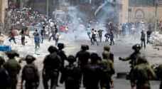 عشرات الإصابات خلال مواجهات مع الاحتلال في رام الله