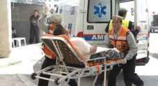 9 اصابات بحادثي تصادم في العاصمة