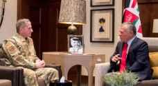 الملك يستقبل رئيس أركان القوات الجوية الأمريكية