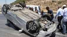 وفاة شخص بعد تدهور مركبته على طريق ياجوز بعمان