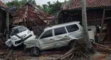 """ارتفاع حصيلة ضحايا """"تسونامي"""" إندونيسيا إلى 281 قتيلا"""