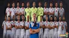 الجهاز الفني للنشامى يعلن القائمة النهائية لكأس آسيا 2019