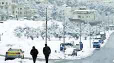 الأرصاد لرؤيا: من المبكر الحديث عن تساقط الثلوج نهاية الأسبوع المقبل