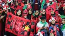 منتخب القدم النسائي الإيراني سيخوض مباراة في آزادي للمرة الأولى