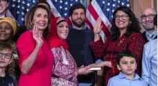 نائبة أمريكية من أصول فلسطينية تشتم ترمب وتتوعد بإقالته