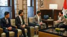 الأمير الحسين يلتقي مطوري نظام أمان السيارات