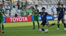 فوز اليابان على تركمنستان بكأس آسيا