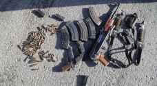مقتل شخص وإصابة مطلوب بمداهمة أمنية لخيمة في البادية الشمالية - صور