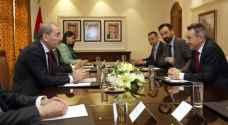 الصفدي يلتقي رئيس اللجنة الدولية للصليب الأحمر