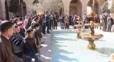 وقفة احتجاجية في الكرك للمطالبة بإسقاط إتفاقية الغاز  مع الاحتلال