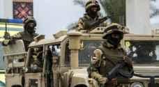 الجيش المصري يعلن مقتل 8 إرهابيين غربي البلاد