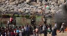 الاحتلال يعتدي على المسيرين البحري والبري في غزة