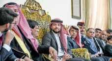 ولي العهد يلتقي شيوخ ووجهاء محافظة معان