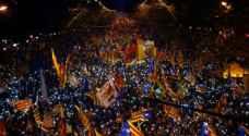 المحتجون في برشلونة: السعي للاستقلال ليس جريمة
