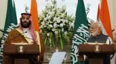 """ولي العهد السعودي يقول إن """"الإرهاب"""" مصدر قلق مشترك مع الهند"""