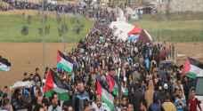 استشهاد 267 فلسطينياً منذ بدء مسيرات العودة
