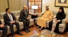الرزاز يشيد بدور الإمارات في دعم الأردن اقتصاديا