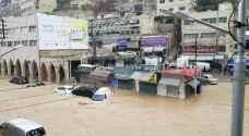 الطباع يطالب أمانة عمان بتعويض التجار المتضررين جراء المنخفض الجوي