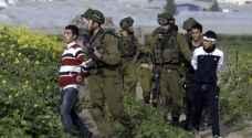الاحتلال يعتقل 11 فلسطينيا بالضفة الغربية المحتلة
