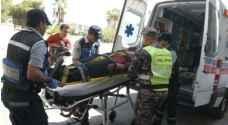 إصابة شخصين بحادث دهس في عمان