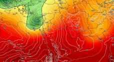 """طقس العرب: جبهة هوائية دافئة تؤثر على الأردن قبل عودة الأجواء الماطرة """"الأسبوع المقبل"""""""