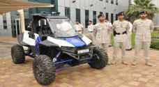 أبو ظبي تستعين بسيارات ذكية لرصد الهاربين في الطرق الوعرة - فيديو