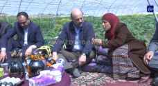 """الرزاز يبشر المزارعين المتضررين"""": سنعوضكم - فيديو وصور"""