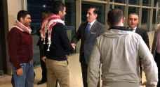 """""""الخارجية"""": عودة ثلاثة أردنيين احتجزتهم إيران الى العاصمة عمّان - فيديو وصور"""
