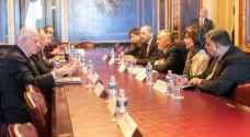 أعضاء في الكونغرس الأمريكي يؤكدون خلال لقاءات مع الملك الحرص على توطيد العلاقات الأردنية الأمريكية