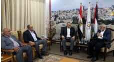 عقب القصف - الوفد الامني المصري يغادر قطاع غزة
