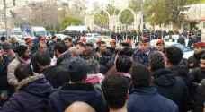 إنهاء اعتصام المتعطلين عن العمل أمام الديوان الملكي وعودتهم إلى معان- وثيقة