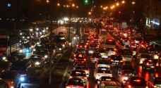أزمات سير خانقة وازدحامات مرورية في عمّان