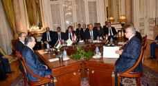 الصفدي ومدير المخابرات يشاركون في اجتماع مع نظرائهم من مصر والعراق للتحضير للقمة الثلاثية