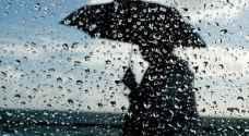 آخر تفاصيل وتطورات الحالة الجوية حتى يوم الأربعاء