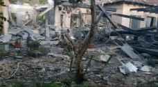 """إصابة 7 مستوطنين في سقوط صاروخين على """"تل أبيب"""" - فيديو وصور"""