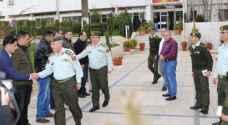 توجيهات ملكية بإرسال طاقم تعزيز طبي للمستشفى الميداني الأردني في غزة
