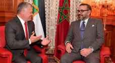 الملك والعاهل المغربي يؤكدان أن الدفاع عن القدس ومقدساتها أولوية قصوى للبلدين