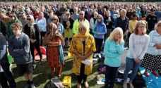 الآلاف يشاركون في مراسم تكريم شهداء مذبحة المسجدين في نيوزيلندا